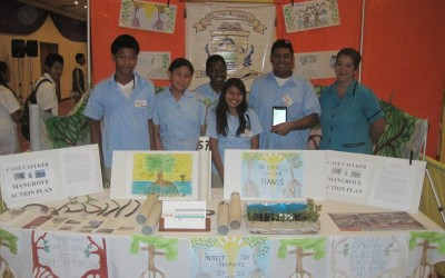 """Most Creative and Innovative Project"" at S.T.E.M. Visionaries Challenge"